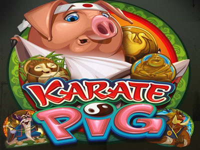 Karate Pig Slot - New Online Slot Game from Microgaming