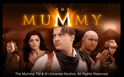 The Mummy is back, this time in a brand new slot game.